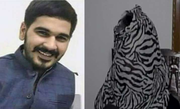 Police finds CCTV footage of BJP chief son chasing victim