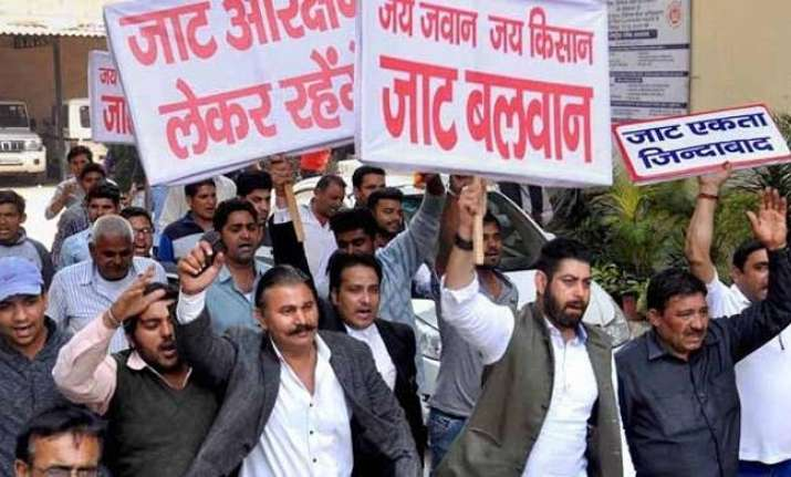 Jat agitation turned violent in February last year,