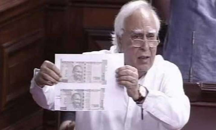 Uproar in RS as Congress alleges different types of Rs 500