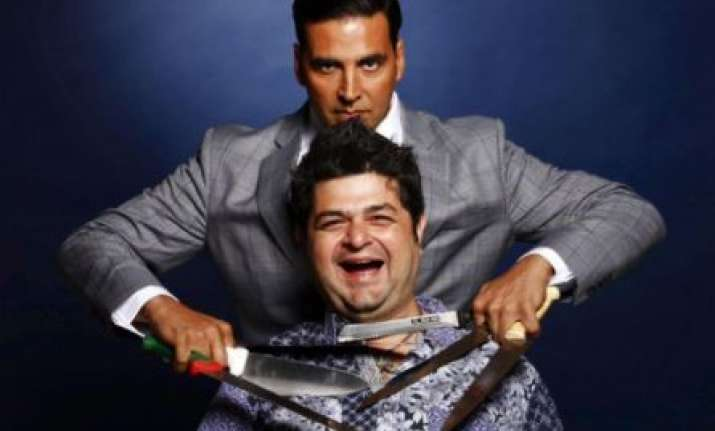 Akshay , Daboo Ratnani, the great indian laughter