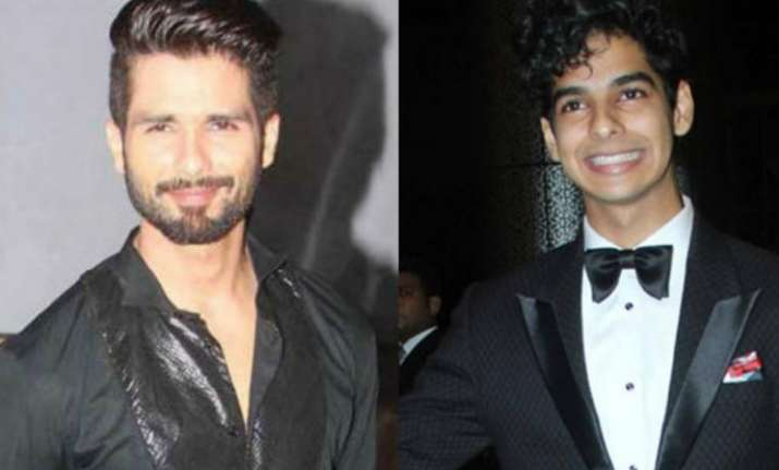 Shahid Kapoor's brother Ishaan Khatter all praise for