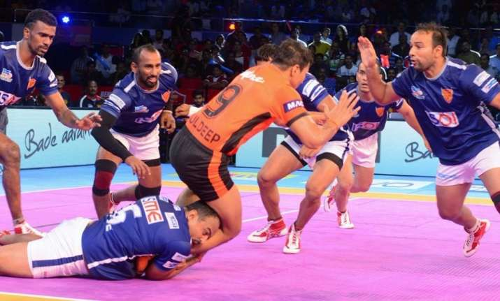PKL: Titans surges in the end to force a tie against Bulls