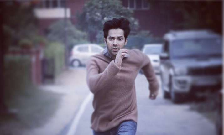 Varun Dhawan Shares October Release and First Look