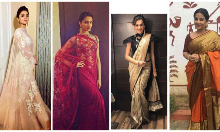 Bollywood actresses in ethnic outfits