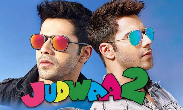 Sajid Nadiadwala strikes a ideal pose with Judwaa 1 & Judwaa 2