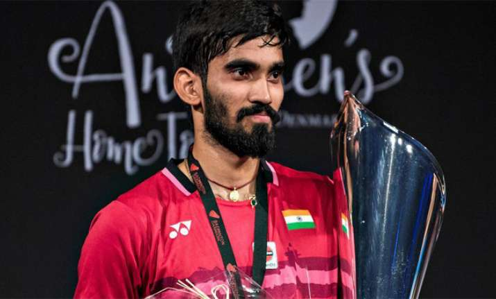 Record-setting Kidambi Srikanth rises to No 2 in BWF rankings