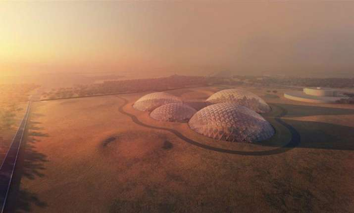 The UAE is Building a City to Simulate Life on Mars