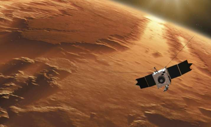 Methane made lakes on Mars, says new research