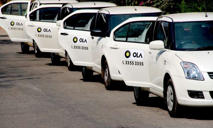 Cab aggregator Ola raises $2 billion from Tencent, SoftBank