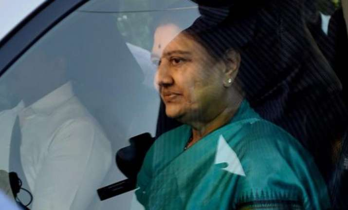 Sasikala Natarajan's parole ends, to return to Bengaluru central jail today
