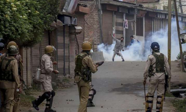 Stone-pelters in Jammu and Kashmir