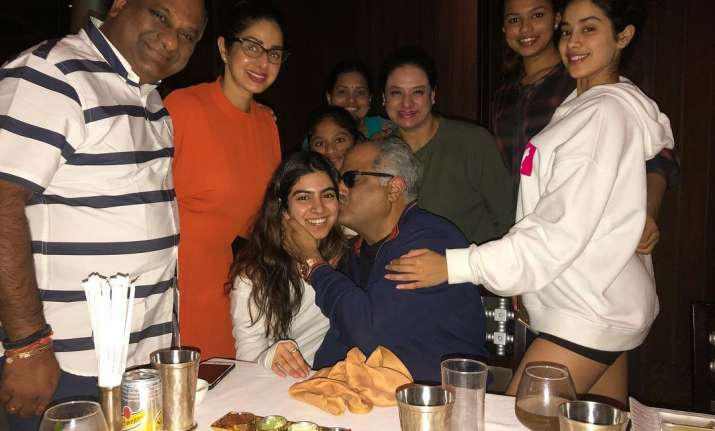 Inside Pics: Sridevi Celebrates Boney Kapoor's Birthday in Chennai