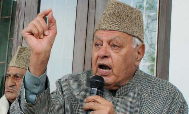 Occupied Kashmir is part of Pakistan: Farooq Abdullah