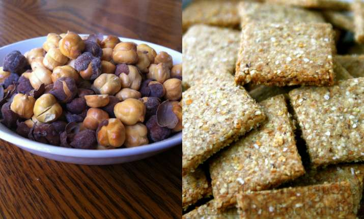 Healthy snack options for workplace