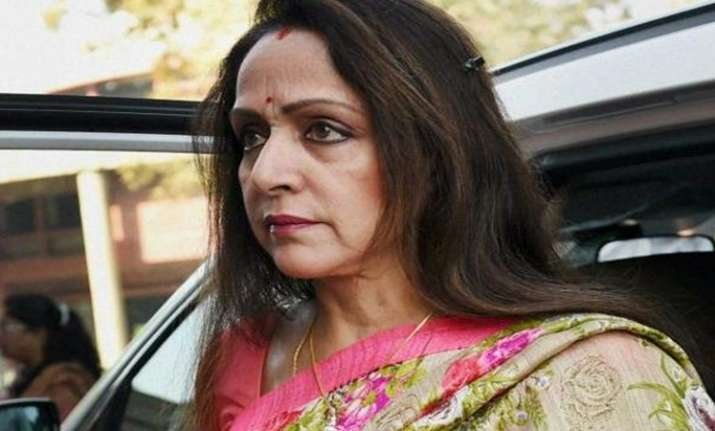 Hema Malini's close shave with bull gets railway official suspended