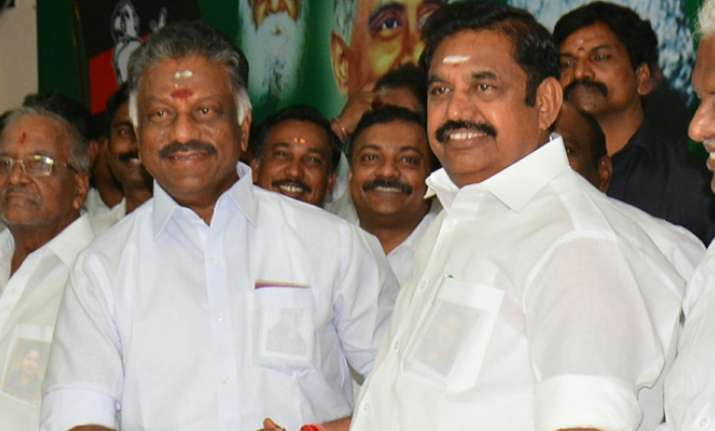 Palaniswami & OPS faction gets 'two leaves' AIADMK symbol