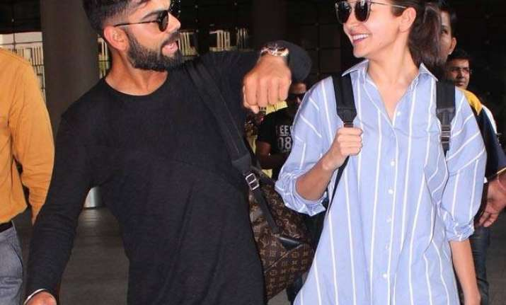 Anushka Sharma, family spotted at airport amid speculations of wedding in Italy