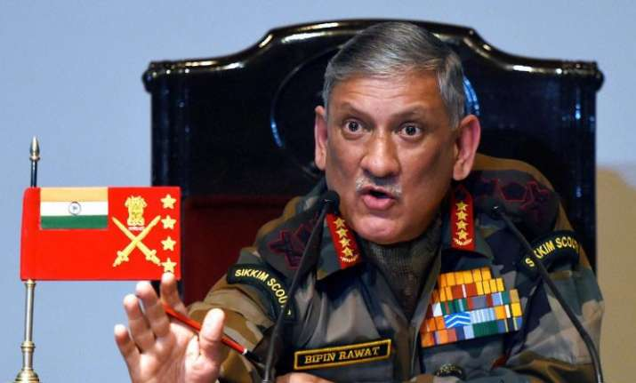 Pakistan must stop abetting terror, says Indian Army chief
