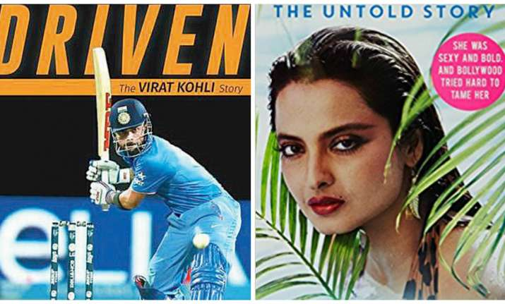 Covers of Driven and Rekha:The Untold Story