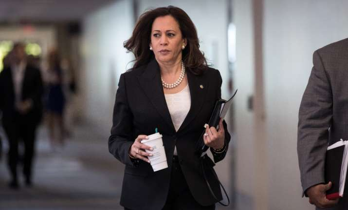 Harris, 53, tops the list for giving the Democratic Party