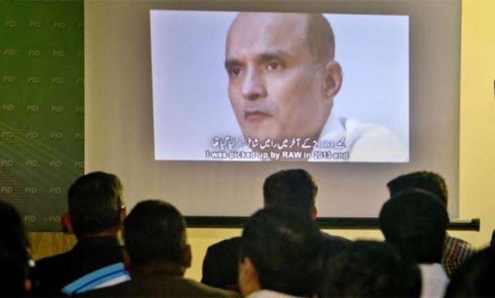 Kulbushan Jadhav meets mother, wife at Pakistan foreign affairs ministry