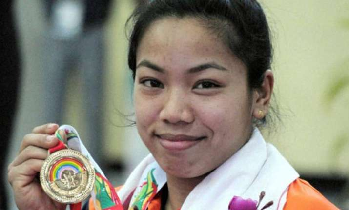 Mirabai Chanu win Gold in weightlifting for India