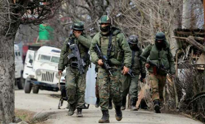 Three Lashkar terrorists, woman killed in Handwara encounter