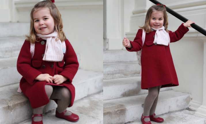 Princess Charlotte is off for her first day at nursery school