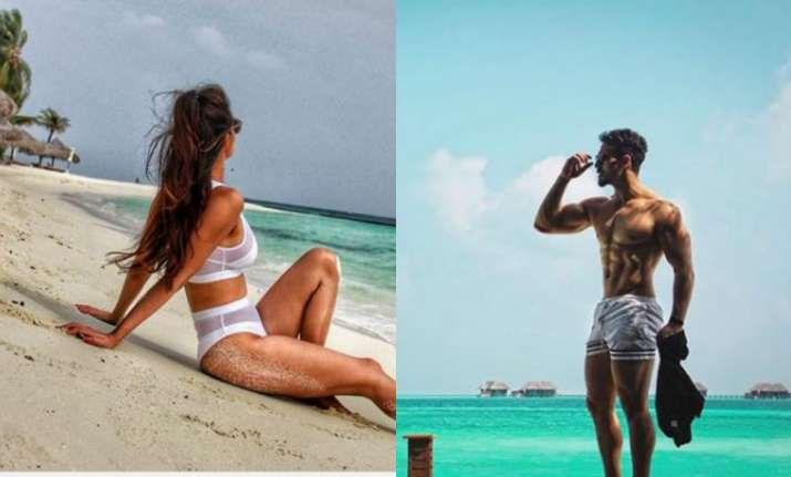 Lovebirds Tiger, Disha set temperatures soaring during their Sri Lanka holiday