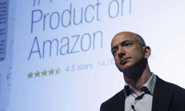 Amazon founder becomes richest man in history