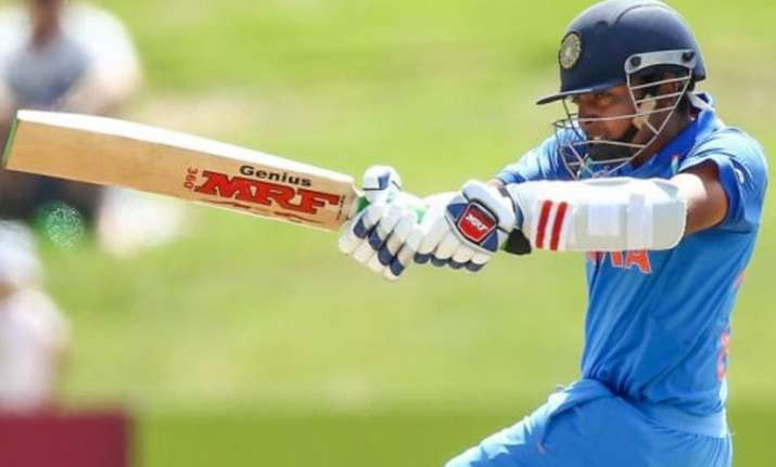India win first game by 100 runs