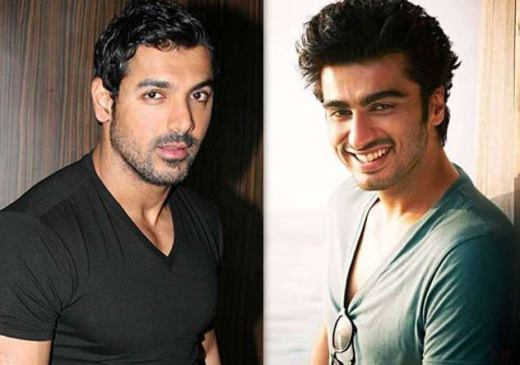 Airport bonding when arjun kapoor met 39 handsome 39 john abraham for Arjun appadurai how to make a national cuisine