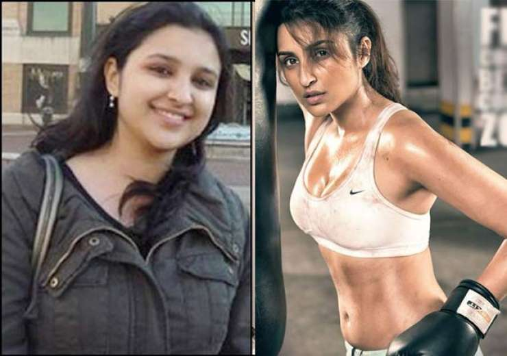 Before & After: Parineeti Chopra's story of struggle with 'weight loss ...