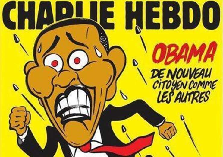 Charlie Hebdo's perfect satire on current situation in US ...