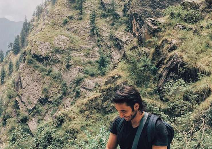 The celeb kid is an adventurer too and we just can't get over his charming smile - India Tv