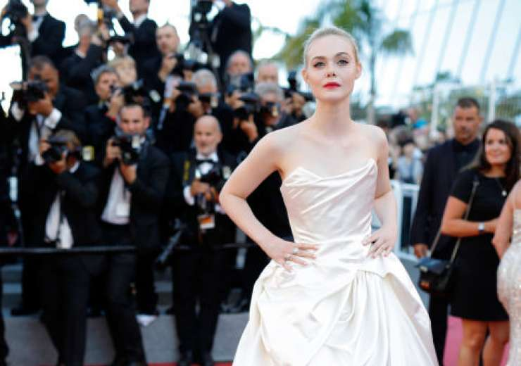 American actress Elle Fanning made a stunning appearance.