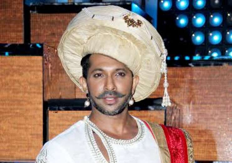 Terence Lewis was seen in the costume of Peshwa Bajirao from Bajirao Mastani. - India Tv