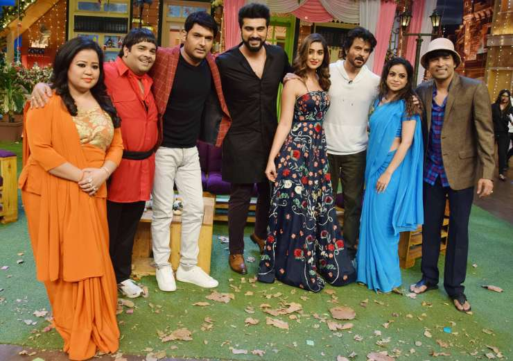 Mubarakan anil arjun and ileana shoot for kapil sharma s for Arjun appadurai how to make a national cuisine
