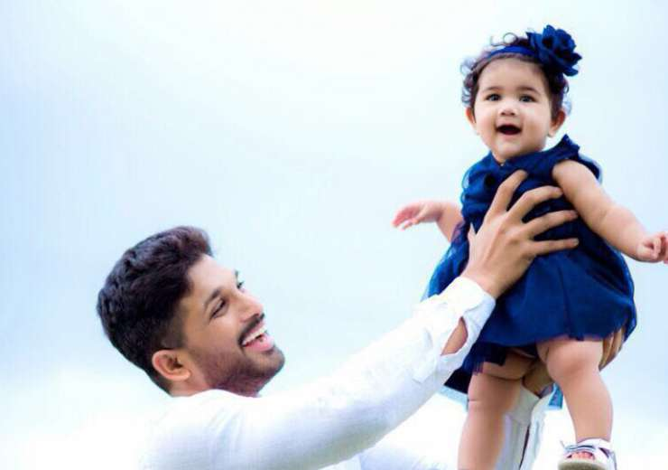 Allu arjun 39 s adorable pic with daughter arha goes viral for Arjun appadurai how to make a national cuisine