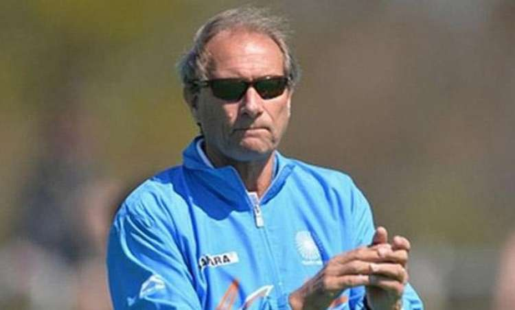 Indian hockey team head coach Roelant Oltmans sacked