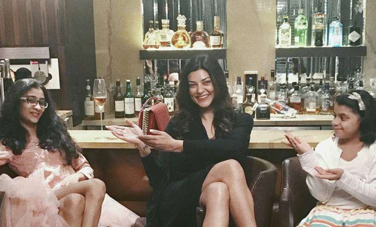 Sushmita Sen shares adorable picture celebrating daughter's birthday