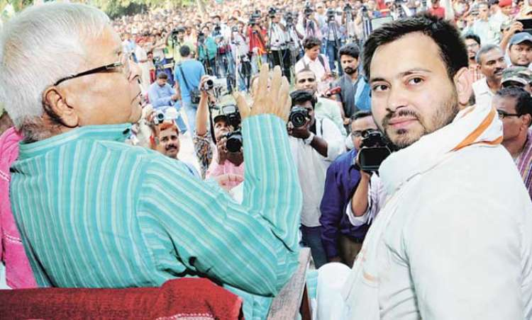 CBI summons Lalu and son Tejashwi in Railway hotel tender case