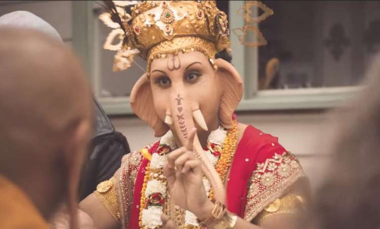 Aussie ad showing Hindu deity eating lamb sparks official complaint by India