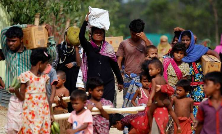 Rohingya violence a 'textbook example of ethnic cleansing,' United Nations  rights chief says
