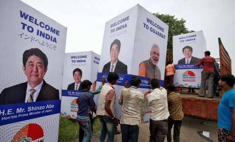 Image result for Modi to hold road show with Japanese PM in Ahmedabad