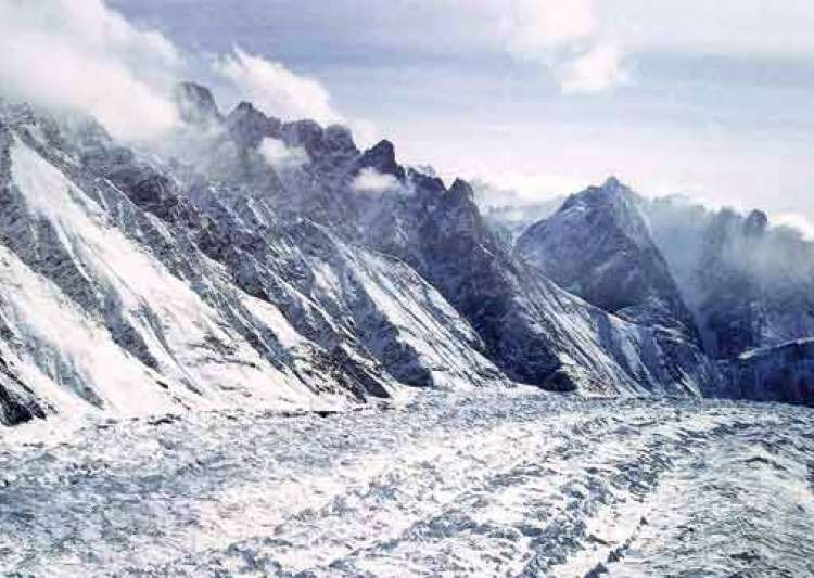 siachen glacier At the edge of the world: soldiers make their way to the post, which is now equipped with a solar panel for electricity generation the siachen glacier is the great.