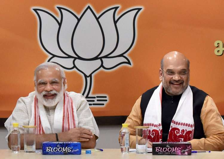 Narendra Modi and Amit Shah- India Tv