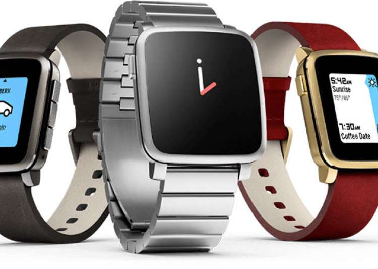 Pebble smartwatches now available on Amazon starting Rs. 5,999