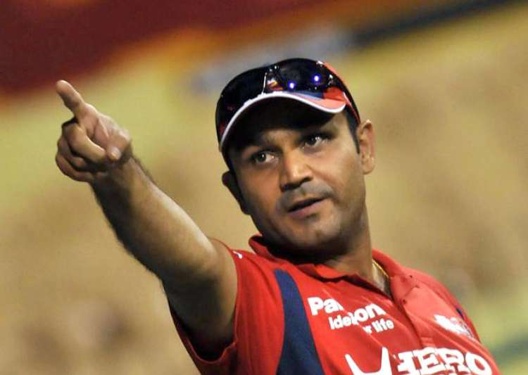 Cricketers don't need Bollywood: Virender Sehwag- India Tv