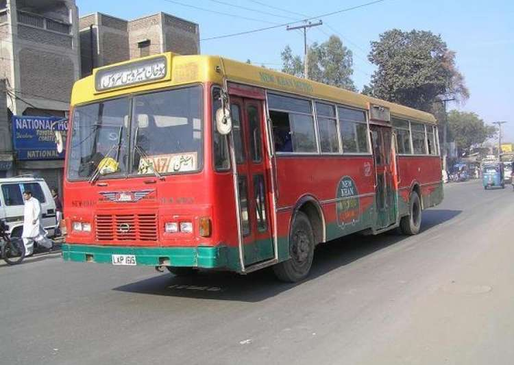 Pakistan bus collision